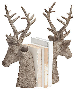 Home Accents Deer Bookend (Set of 2), , large