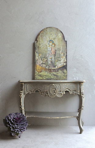 Home Accents Vintage Mary and Angels Image on Decorative Wood Wall Decor, , rollover