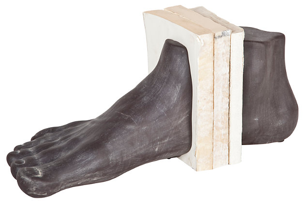 Home Accents Foot Shaped Bookend (Set of 2), , large