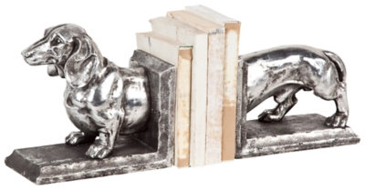 Ashley Accents Dachshund Bookend Home