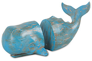 Home Accents Whale Bookend (Set of 2), , large
