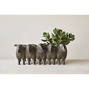 Resin Sheep Planter, , rollover