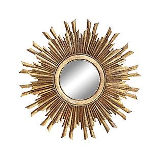 Home Accents Gold Sunburst Mirror, , large