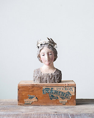 Vintage Bust Reproduction with Removable Crown, , rollover