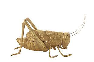 Gold Resin Cricket Figurine, , large