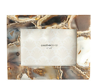 Brown Agate Photo Frame (Each one will vary), , large