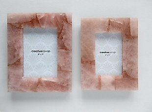 "Quartz Photo Frame (Holds 4"" x 6"" Photo/Each one will vary), , rollover"
