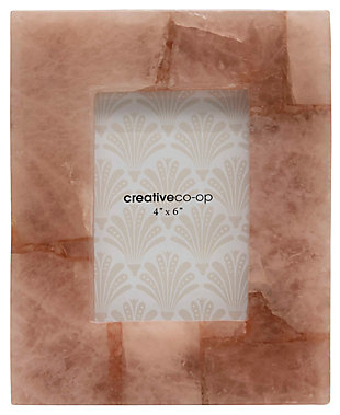 """Quartz Photo Frame (Holds 4"""" x 6"""" Photo/Each one will vary), , large"""