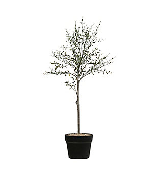 "29""H Faux Thyme Topiary in Pot, , large"