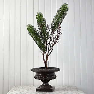 "Christmas 45"" Pine Artificial Flower (Set of 3), , rollover"