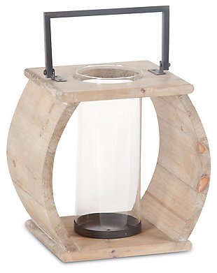 Home Accents Lantern, Natural, large