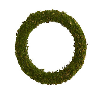 "Christmas 20"" Moss Artificial Wreath, , large"