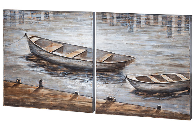 Home Accents Boat Wall Art  picture