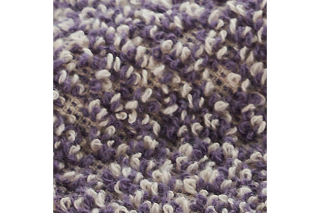 Ivy Luxury Hitit Jacquard Yarn Dyed Turkish Bath Towels Pack of 3 (Assorted), Multi, large