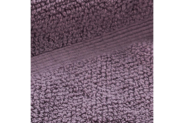 Ivy Luxury Rice Effect Turkish Aegean Cotton Bath Towel Pack of 3 (Heather), Heather, large