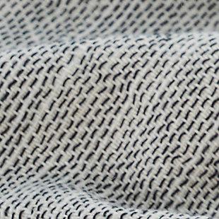 Ivy Luxury Ohio Turkish Beach Towel Pack of 2 (Gray), Gray, large