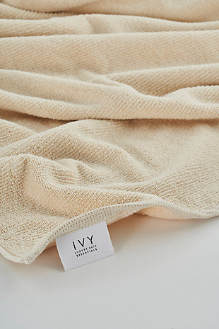 Ivy Luxury Nova Terry Turkish Towel 3 Pieces Set (Linen), , rollover