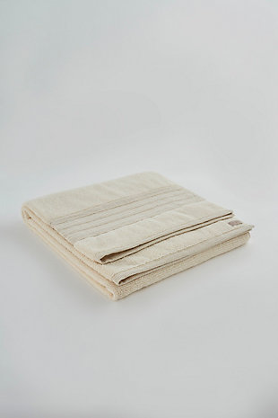Ivy Luxury Nova Terry Turkish Towel 3 Pieces Set (Linen), , large