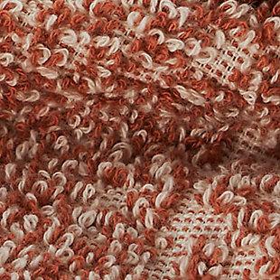 Ivy Luxury Ivy Hitit Bath Towel Pack of 2 (Terra/Ecru), Terra/Ecru, large
