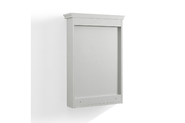 Crosley Lydia Mirrored Wall Cabinet, , large