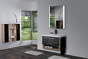 LTL Home Products Sperry LED Mirror Cabinet, , rollover