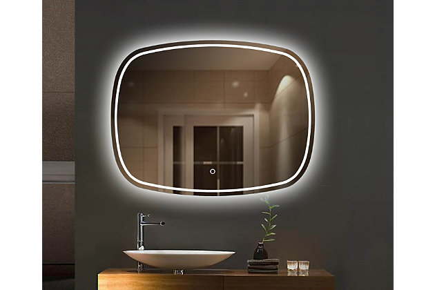 LTL Home Products Magnum LED Wall Mirror, , large