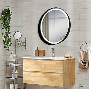 LTL Home Products Carlton LED Wall Mirror, , rollover