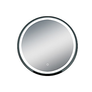 LTL Home Products Carlton LED Wall Mirror, , large