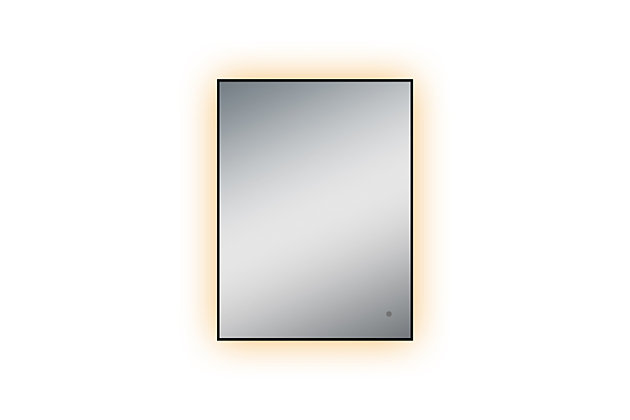 LTL Home Products Shadows LED Wall Mirror, , large