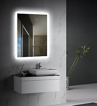 LTL Home Products Stratus LED Wall Mirror, , rollover