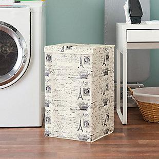 Postcards from Paris Laundry Hamper, , rollover