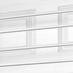 Over-the-Door 36 Pair Over the Door Shoe Rack, White, large