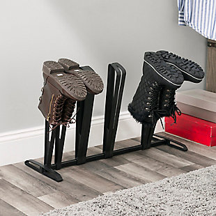 Contemporary Four Pair Adjustable Boot Rack, , rollover