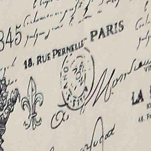 Postcards from Paris Large Storage Box, , large