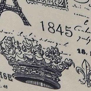 Postcards from Paris Large Storage Bin, , large