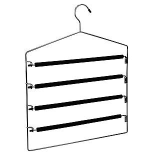 Contemporary Four Tier Trouser Hanger, , large