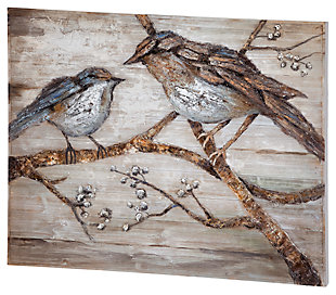 Home Accents Bird Wall Art, , large