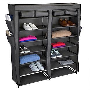 Multipurpose Seven Tier Multipurpose Polyester Shelf, , large