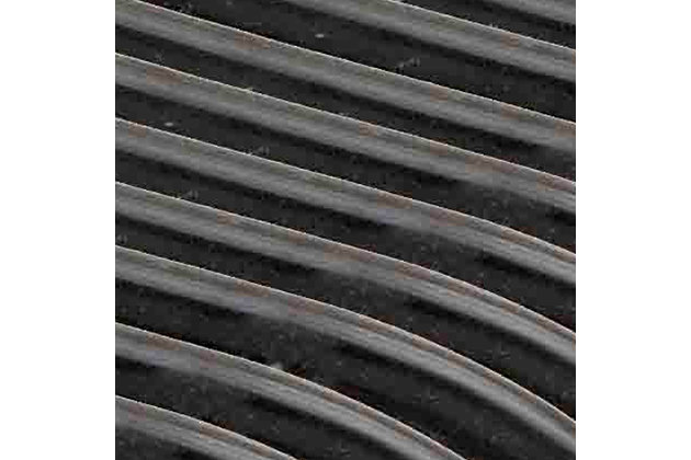 Contemporary Non-Slip Hangers (Set of 10), Black, large