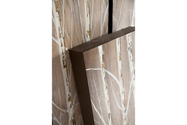 Home Accents Birch Tree Wall Art (Set of 3), , large
