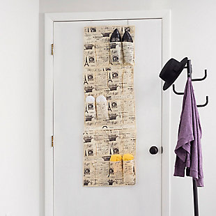 Over-the-Door Over the Door 20 Pocket Shoe Organizer, , rollover