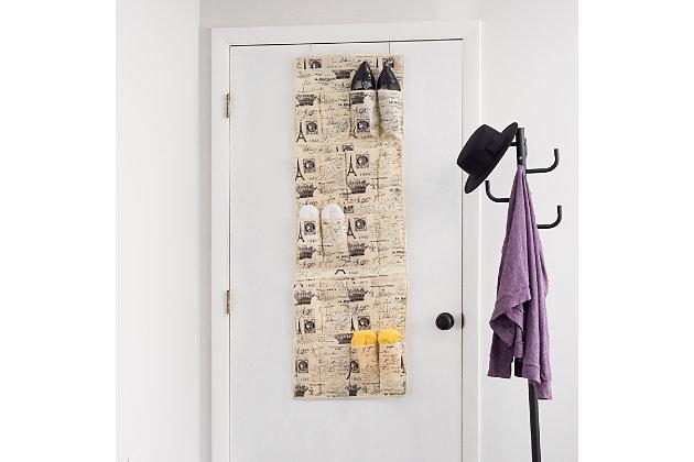 Over-the-Door Over the Door 20 Pocket Shoe Organizer, , large
