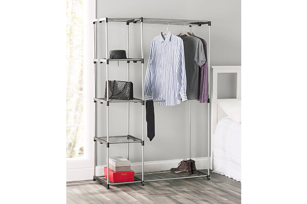 Contemporary  Free Standing Closet, , large