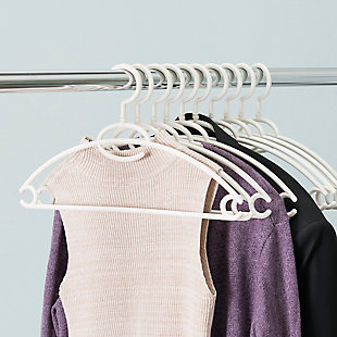 Contemporary Plastic Hangers (Set of 10), , rollover