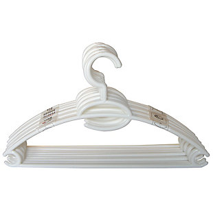 Contemporary Plastic Hangers (Set of 10), , large