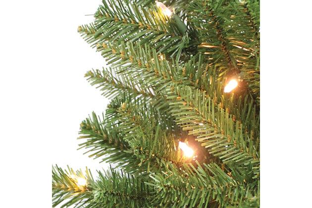 Sterling 7Ft. Pre-Lit Ozark Pine with 230 Dual Color Changing LED Lights, , large