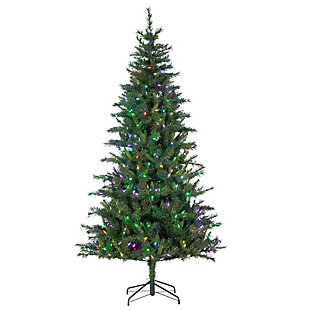 Sterling 7.5Ft. Hudson Pine with 400 RGB Color Changing LED Lights, , large