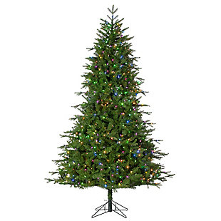 Sterling 7.5Ft. Timber Ridge Pine with 650 Dual Color Changing LED Lights with Décor, , large