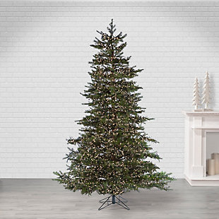 Sterling 7.5Ft. Pre-Lit Natural Cut Monaco Pine with 8032 LED Micro Lights, , large