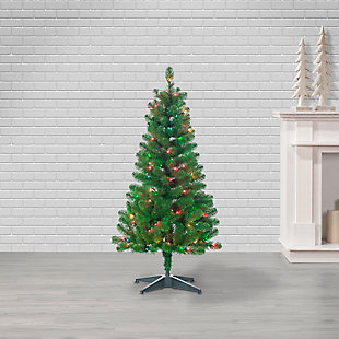 Sterling 48-Inch High Southern Pine Pre-Lit Tree with Multi-Color Lights, , large